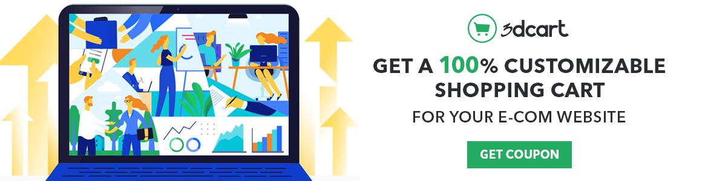 Get a 100% Customizable Shopping Cart For Your E-com website