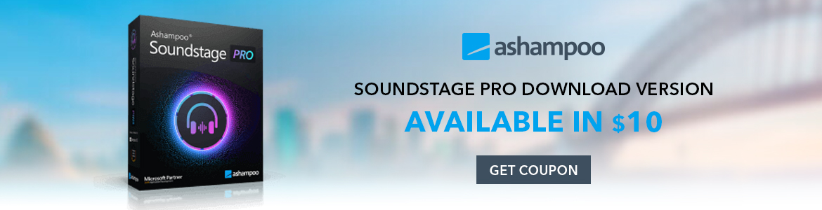 Ashampoo Soundstage Pro Download Version Available In $10 Shop Now