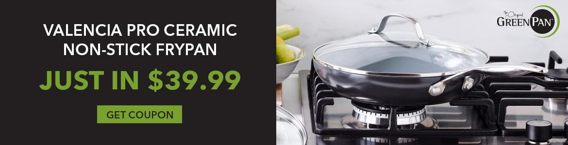 Shop Our Valencia Pro Ceramic Non-Stick Frypan Just In $39.99