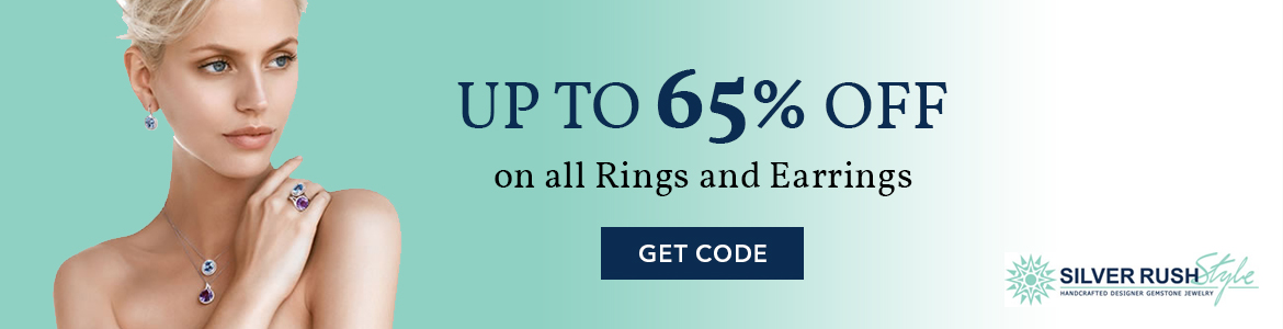 Silver Rush Style upto 65% off on All Rings and Earrings